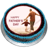 Fathers Day Photo Cake