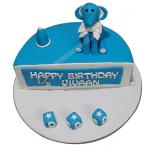 Six Month Birthday Cake