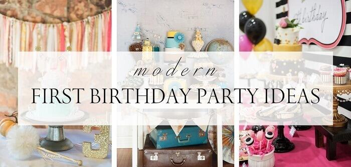first birthday celebration ideas