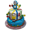 Doraemon Nobita Birthday Cake