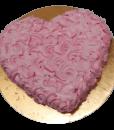 Heart Shaped Strawberry Cake – faridabad