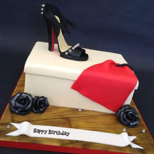cake for fashion diva