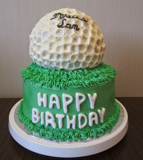 cake for sports lover