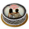 Happy friendship day cake