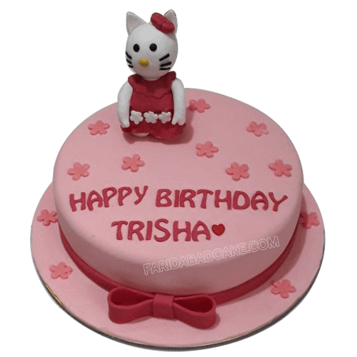 Excellent Hello Kitty Birthday Cake Order Online At Low Price Personalised Birthday Cards Cominlily Jamesorg