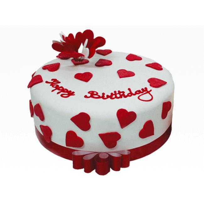 designer cake for lover birthday