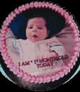 1st Month Birthday Cake-faridabad