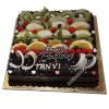 chocolate fruit cake-faridabad