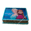 Elsa Anna Birthday Cake