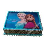 elsa anna birthday cake-faridabad
