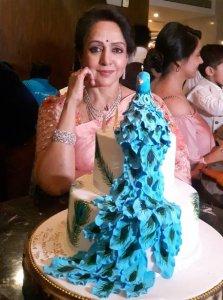 Hema Malini's 70th Birthday Cake