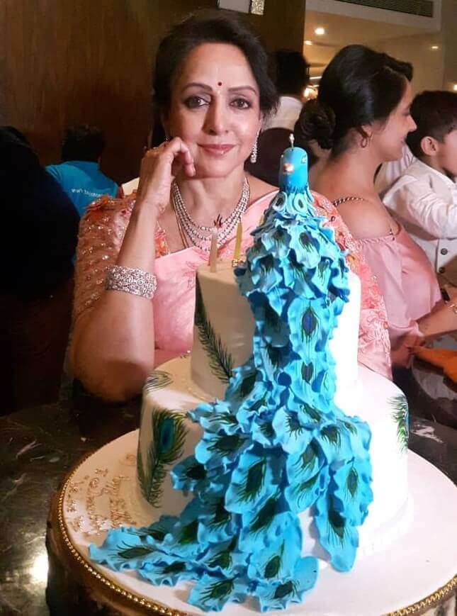 Hema Malini's 70th Birthday Cake