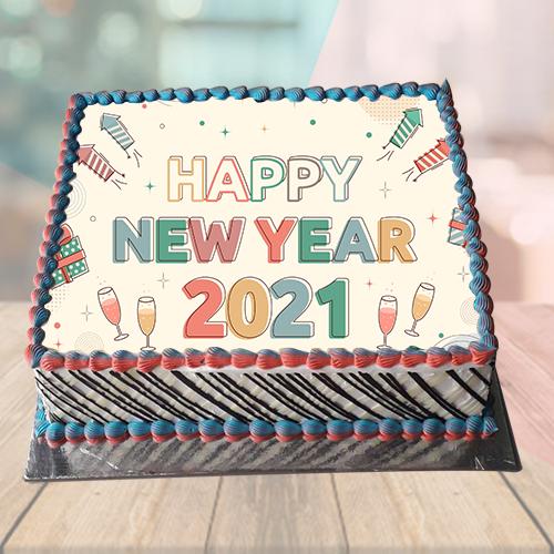Happy New Year Cake 2019
