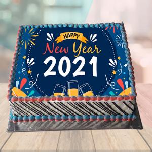 New Year 2019 Cake Designs