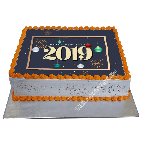 Happy New Year Cake 2019