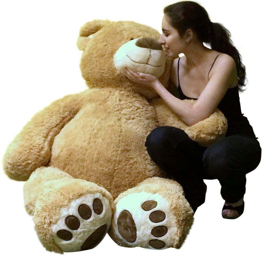 teddy bear for her