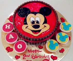 cartoon cakes for kids birthday