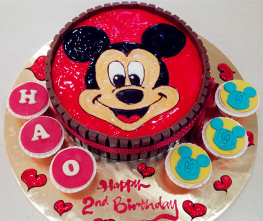 cartoon cakes for kids birthday