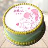 mothers day cake with photo faridabadcake