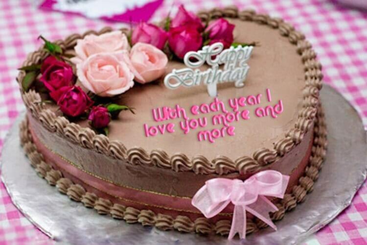 midnight birthday cake by Faridabad