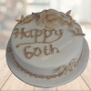 60th birthday cake faridabadcake
