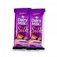 2 Cadbury Silk Chocolates
