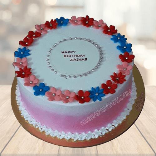 Pineapple Cake Design for Birthday