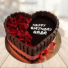 kitkat heart cake faridabadcake