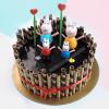 peppa pig cake for boy birthday