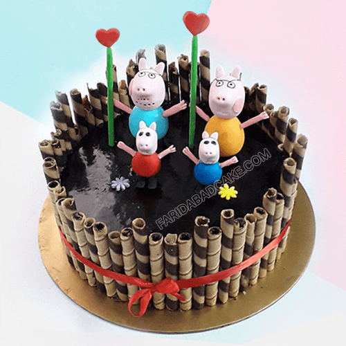 Peppa Pig Cake for Boy