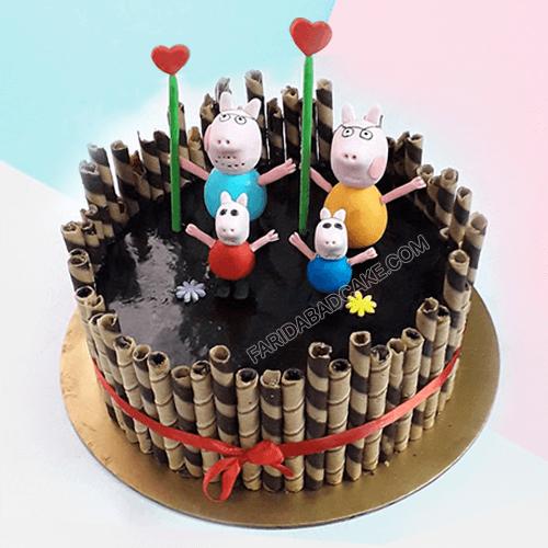 Peppa Pig Cake for Boy