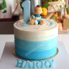Birthday Cake for Baby Boy 1 Year