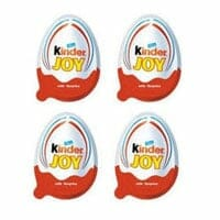 4 Kinder Joy Chocolates