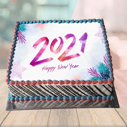 Happy New Year Cake Gift