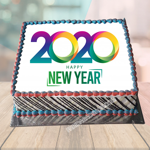 New Year Cake Designs