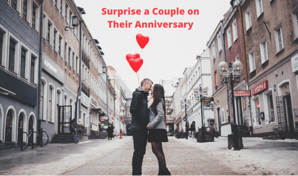 couple celebrating their anniversary
