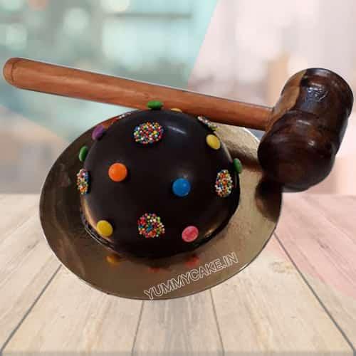 Smash Cake With Hammer