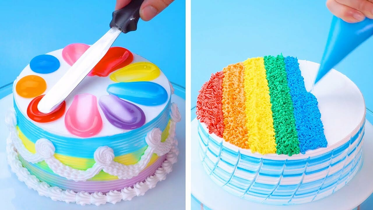 Easy colorful Cake